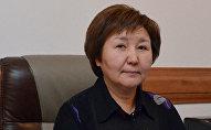Архивное фото председателя Верховного суда КР Гульбары Калиевой