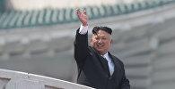 Архивное фото главы КНДР Ким Чен Ына