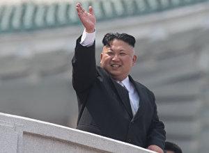 Түндүк Кореянын лидери Ким Чен Ын. Архивдик сүрөт