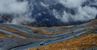 Перевал Тоо-Ашуу на автодороге Бишкек — Ош. Архивное фото