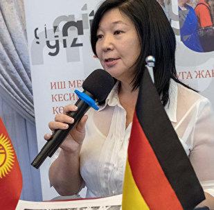 Замминистра труда и социального развития КР Зууракан Каденова