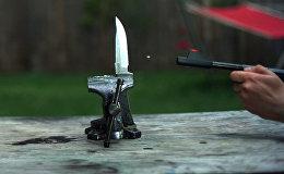 Можно ли разрубить летящую пулю мечом — вы точно залипните на это видео