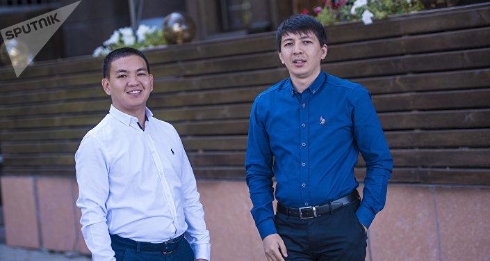 Бизнесмены Марат Дуйшоналиев (слева) и Тилек Сапарбаев