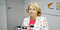 Директор Молдавского онкологического института Лариса Катринич. Архивное фото