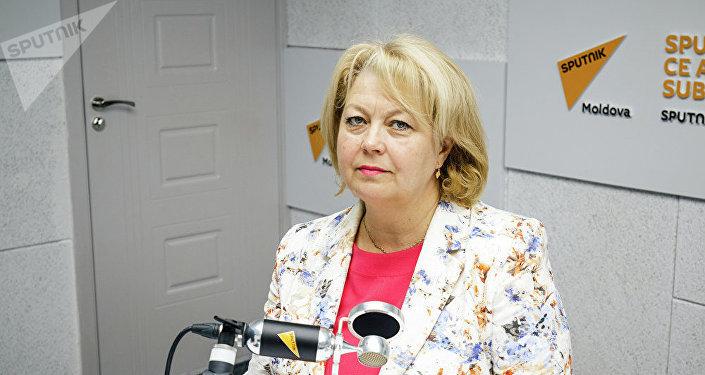 Директор Онкологического института Молдовы Лариса Катринич. Архивное фото