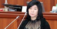 Экс-замминистра труда и социального развития КР Зууракан Каденова