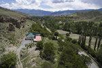 Баткен облусунун Катран айылы. Архивдик сүрөт