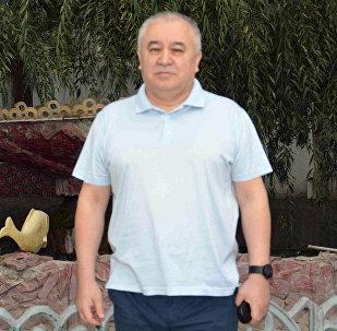Лидер партии Ата Мекен Омурбек Текебаев