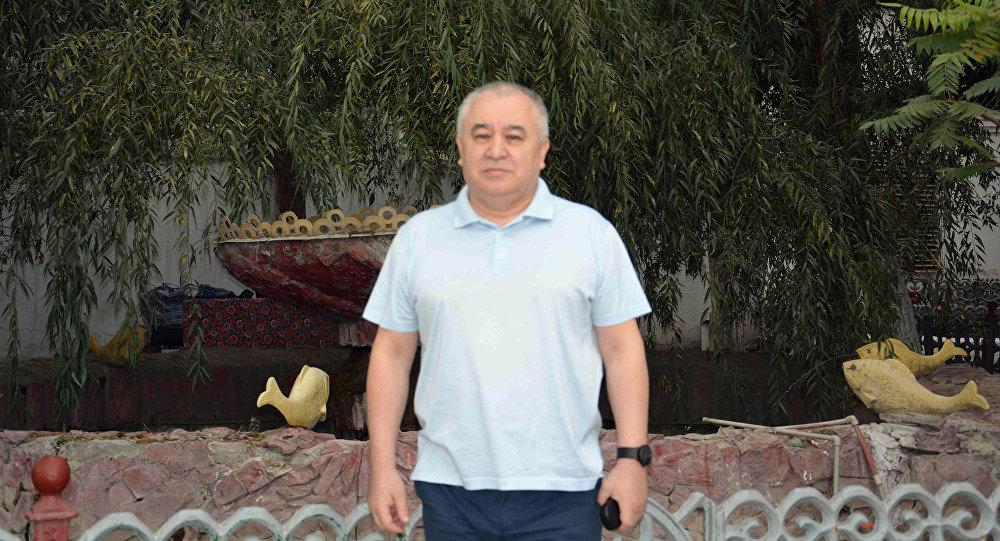 Мурдагы депутат Өмүрбек Текебаев. Архивдик сүрөт