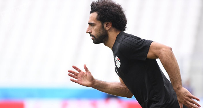 Египетский футболист Мохаммед Салах. Архивное фото