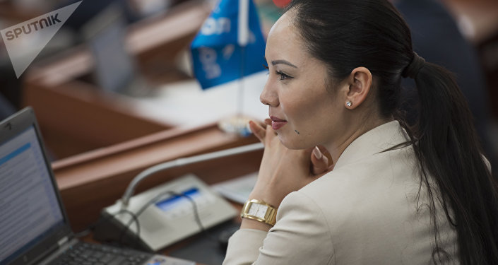 Депутат ЖК Лунара Мамытова. Архивное фото