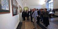 Таврическом дворце Санкт-Петербурга открылась выставка-конкурс, посвященная 90-летию со дня рождения Чингиза Айтматова