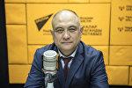 Республикалык кан борборунун башкы директору Бакыт Карабаев. Архив