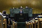 Президент КР Сооронбай Жээнбеков выступил на 73-й сессии Генеральной Ассамблеи Организации Объединенных Наций в Нью-Йорке