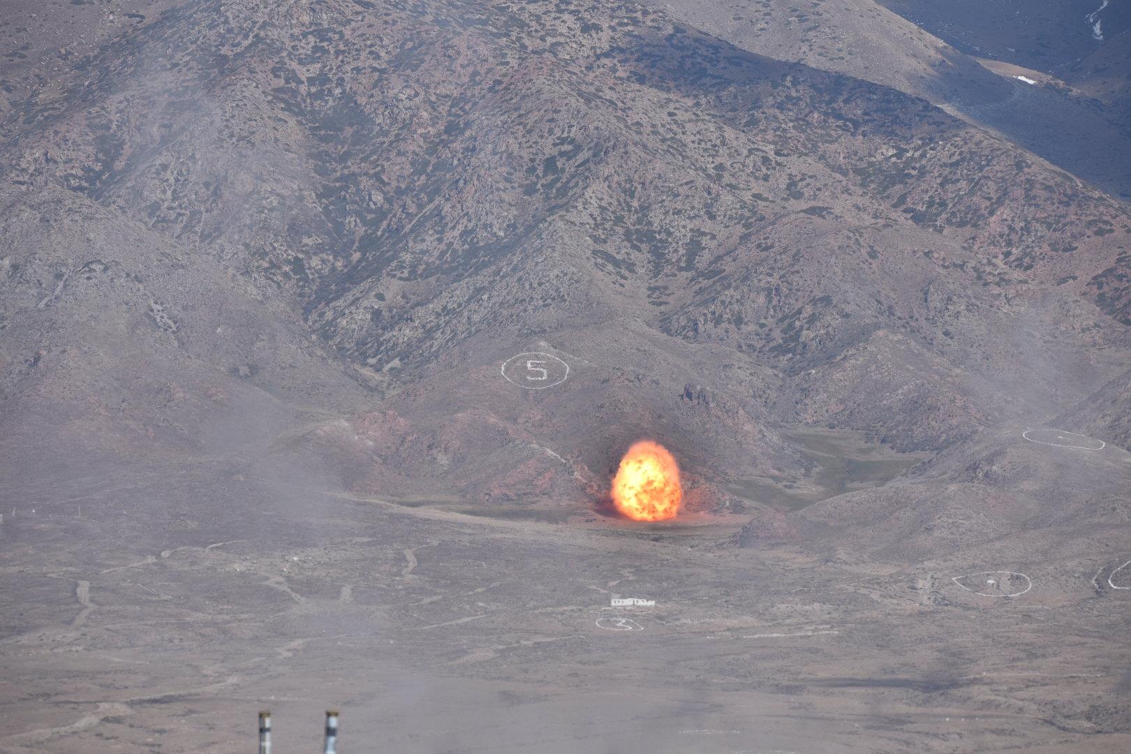 Запуск ракеты Искандер-М  в рамках заключительного этапа учений стран — участниц СНГ Иссык-Куль антитеррор — 2018 в Балыкчи
