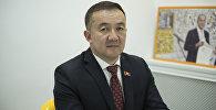 Лидер фракции Республика — Ата-Журт Жыргалбек Турускулов. Архивное фото
