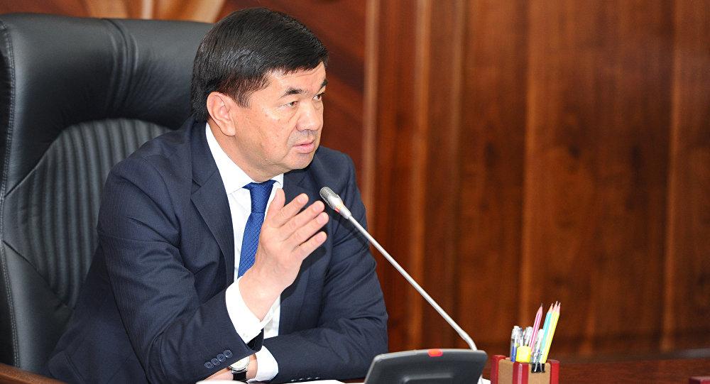 Премьер-министр Мухаммедкалый Абылгазиевдин архивдик сүрөтү
