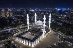 Красота новой главной мечети в бишкекскую ночь — фотофакт