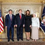 Кыргызстандын президенти Сооронбай Жээнбеков БУУнун Башкы ассамблеясынын 73-жыйынына катышты. Ошондой эле АКШ президенти Дональд Трамп менен жолукту.