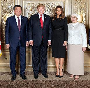 Визит президента КР Сооронбая Жээнбекова в США