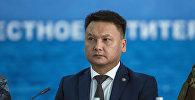 Коопсуздук кеңешинин катчысы Дамир Сагынбаев. Архивдик сүрөт