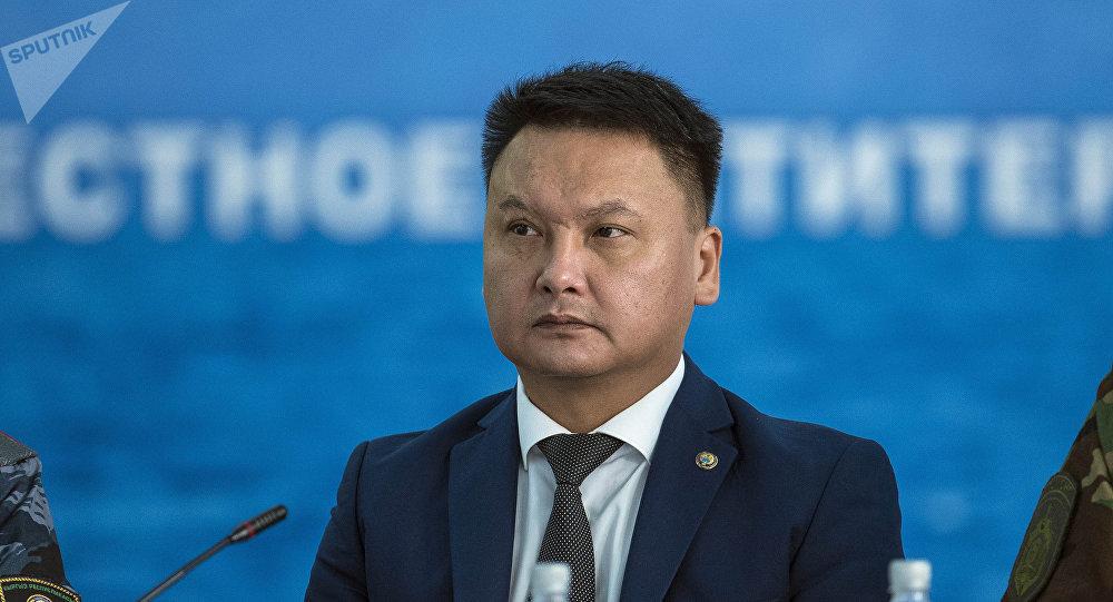 Коопсуздук Кеңешинин катчысы Дамир Сагынбаев. Архив