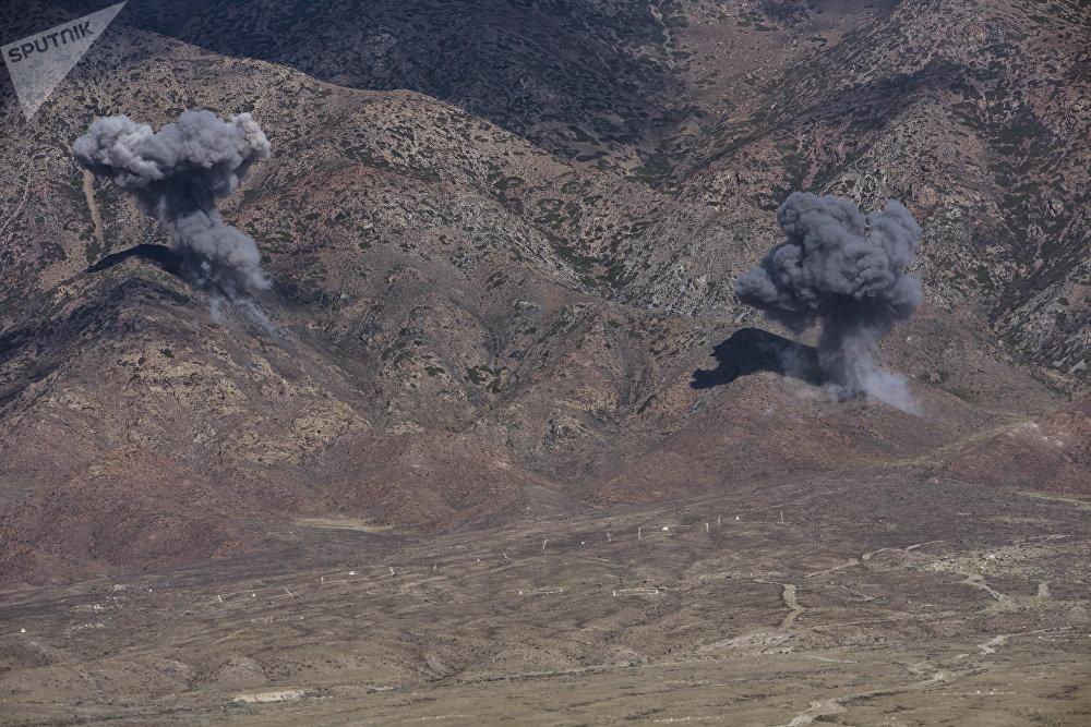 Ракетчики обстреляли позиции боевиков