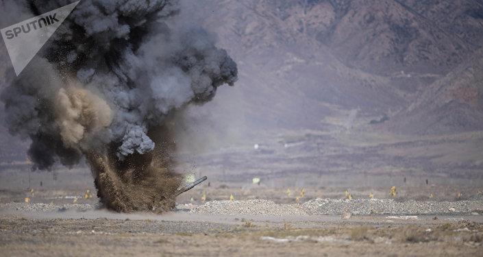 Военные учения стран СНГ Иссык-Куль-Антитеррор-2018