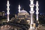Бишкектеги борбордук республикалык мечит. Архив