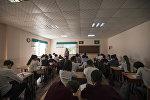 Школьники во время урока. Архивное фото