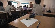 Мектеп окуучулар. Архивдик сүрөт