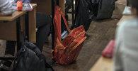 Окуучулардын рюкзактары. Архив