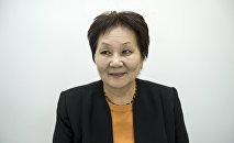Бывшая глава Минздрава Динара Сагинбаева. Архивное фото