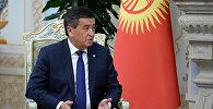 Архивное фото президента Кыргызстана Сооронбая Жээнбекова