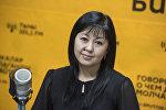 Эксперт по кредитованию, руководитель управления по кредитам одного из банков республики Туратбек кызы Гульзамира. Архивное фото