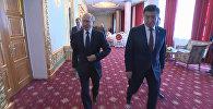 Жээнбеков менен Путин Душанбеде жолукту. Видео