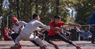 Соревнования по профилактике детской преступности в Бишкеке