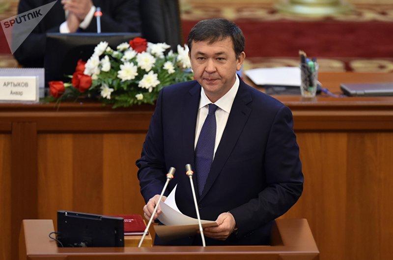 Депутат ЖК 6 созыва Азамат Арапбаев от фракции СДПК. Архивное фото