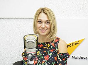 Специалист по организации питания человека по научным канонам Екатерина Дидык во время беседы на радио. Архивное фото