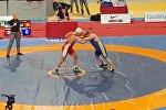 40 секундда жайлады! Мелис Турганбаевдин дүйнө чемпионатындагы кармашынын видеосу