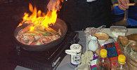 Готовка еды. Архивное фото