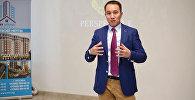 Основатель Международной ассоциации предпринимателей и директор бойцовского клуба Айкол Кубанычбек Осмонбеков. Архивное фото