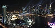 Вид на центральную часть Сингапура. Архивное фото