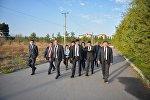 Мэр Бишкека Азиз Суракматов провел рабочее совещание на Южной магистрали в столице