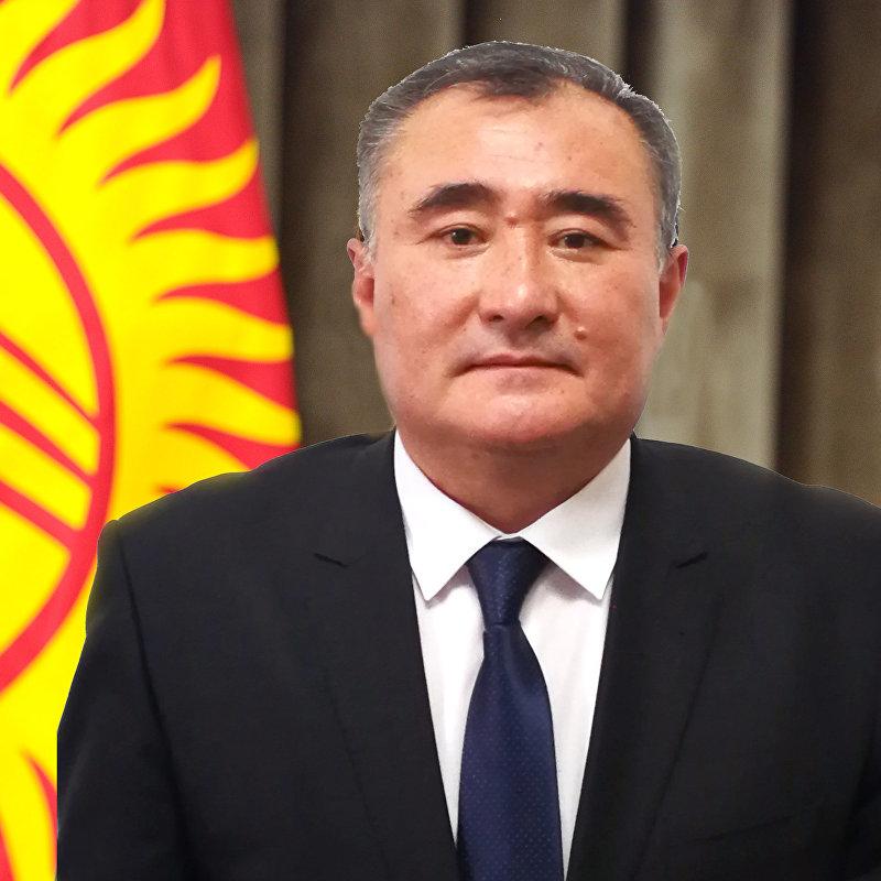 Генеральный директор ГП Кыргыз темир жолу Канатбек Абдыкеримов
