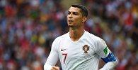 Нападающий сборной Португалии Криштиану Роналду. Архивное фото