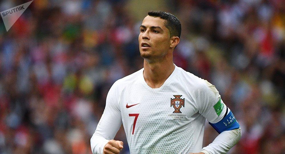 Португалиялык футболчу Криштиану Роналду. Архив