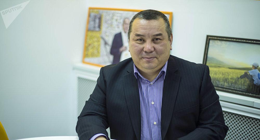 Бишкек шаарынын мэринин милдетин аткаруучу Балбак Түлөбаев. Архив