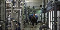 Работы по подготовке нового химического цеха к зиме на столичной теплоэлектроцентрали