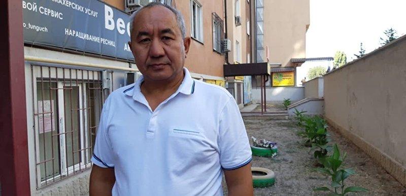 Экономист Кенешбек Алымбеков